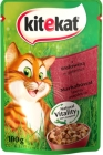 Kitekat Complete feed for adult cats with beef in jelly