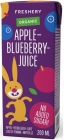 Freshery BIO apple and bilberry juice