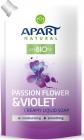 Neben natürlichen prebiotischen cremigen Flüssigseife auf Lager Passionsblume und Veilchen