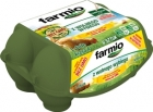 Huevos de Farmio de rango libre de pollos alimentados con soya sin OGM tamaño L Clase A