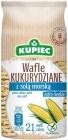 Kupiec Wafle kukurydziane z solą