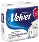 Velvet Toilet paper slightly white
