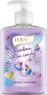 Luksja Rainbow cotton candy Liquid soap with the scent of cotton candy