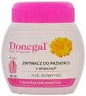 Donegal Жидкость для снятия лака с витамином Е губкой и экстрактом календулы