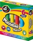 As Plastelina szkolna 6 kolorów