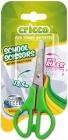 Cricco School scissors with a 13.5cm ruler mix of colors