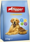 Flipper Complete dry food for adult dogs of all breeds with poultry