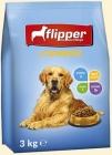 Флиппер Комплексный сухой корм для взрослых собак всех пород с птицей
