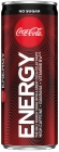 Coca-Cola Energy no sugar Carbonated energy drink with caffeine, guarana extract and B vitamins. Contains sweeteners.