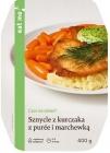 Eat Me Sznycle z Kurczaka z Puree