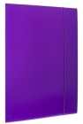 Office Folder A4 with eraser varnished purple