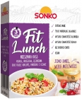 Sonko Fit Lunch Blend of couscous, spelled, barley and borlotti beans, tomato and olives 4x80g
