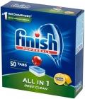 Finish All in 1 Lemon Tablets zum Geschirr spülen in der Spülmaschine