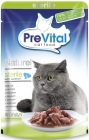 PreVital complete food for adult cats after sterilization procedure salmon fillets in sauce