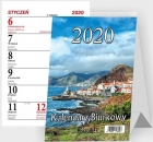Beskids Desk calendar standing vertical spiral 2020