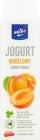 Trinkender Joghurt der Milko-Aprikose