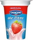 Danone strawberry drinking yogurt