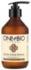 Only Bio Gel de lavado de cara hipoalergénico Surfactina de colza biorrefinada