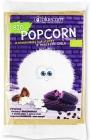 Popcrop Blue Corn Popcorn mit Sheabutter und Salz, mikrowellengeeignet, BIO