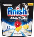 Termine las tabletas Quantum Ultimate Lemon para lavar los platos en el lavavajillas