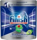 Finish Quantum Max Apple & Lime Capsules для мытья посуды в посудомоечной машине