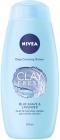 Nivea Clay Fresh Blue Гель для душа с агавой и лавандой