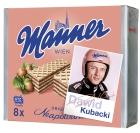 Krüger Manner Wafers Napolitano con sabor a nuez con la imagen de Dawid Kubacki