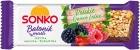 Barras Sonko Muesli Frutas del Bosque Polaco moras, frambuesas, arándanos