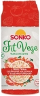 Sonko Fit Vege Rice wafers with vegetables red lentils + dried tomatoes