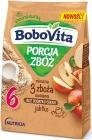 BoboVita Portia Cereal Молочная каша 3 злака овсяное яблоко