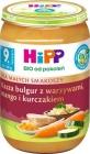 HiPP Bulgur with vegetables, mango and chicken BIO