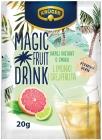Krüger Magic Fruit Drink - это растворимый напиток со вкусом лайма и грейпфрута