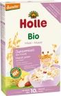 Papilla orgánica multigrano Holle con copos de maíz y frutas, no lácteos BIO