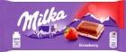 Milka Шоколад клубнично-йогуртовый
