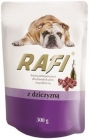 Rafi Complete food for adult dogs of all breeds with venison