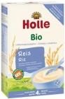 Gachas de arroz integral con leche integral Holle BIO