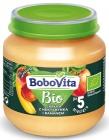 BoboVita Apples with nectarine and banana BIO