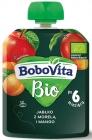 BoboVita Apple con albaricoque y mango BIO