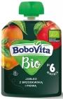 BoboVita Apple con durazno y membrillo BIO