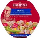 Салат Король Оскар готов к употреблению во французском стиле