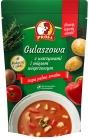 Profi Gulaszowa con verduras y carne de cerdo.