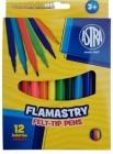 Фломастеры Astra 12 цветов