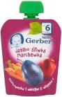 Gerber Deserek Jabłko śliwka
