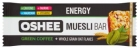 Oshee Energy Baton muesli with nuts and raisins with a coffee flavor