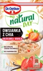 Dr. Oetker My Natural Day Oatmeal with strawberry-vanilla chia