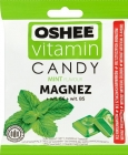 Oshee Vitamin Candy. Dietary supplement. Hard candies with mint flavor