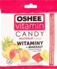 Oshee Vitamin Candy. Dietary supplement. Hard candies with multi-fruit flavor
