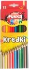 Pukka Fun Crayons Треугольные мелки 12 цветов