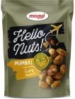 Mogyi Hello Nuts Cacahuetes empanizados con sabor a curry verde