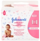Johnsons Baby Gently cleansing wipes 4x56 pcs